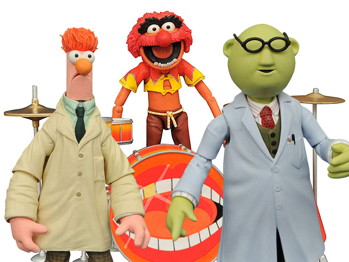 BigBadToyStore Exclusive The Muppets Select Figures