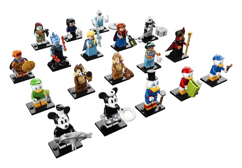LEGO Announces New Disney Minifigures Wave