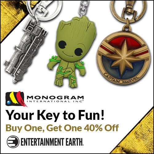 Entertainment Earth – Monogram Sale, Jurassic World, New Daily Deals & More