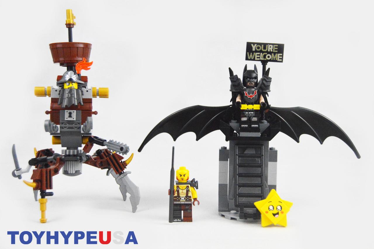 LEGO Movie 2 – 70836 Battle-Ready Batman & MetalBeard Set Review