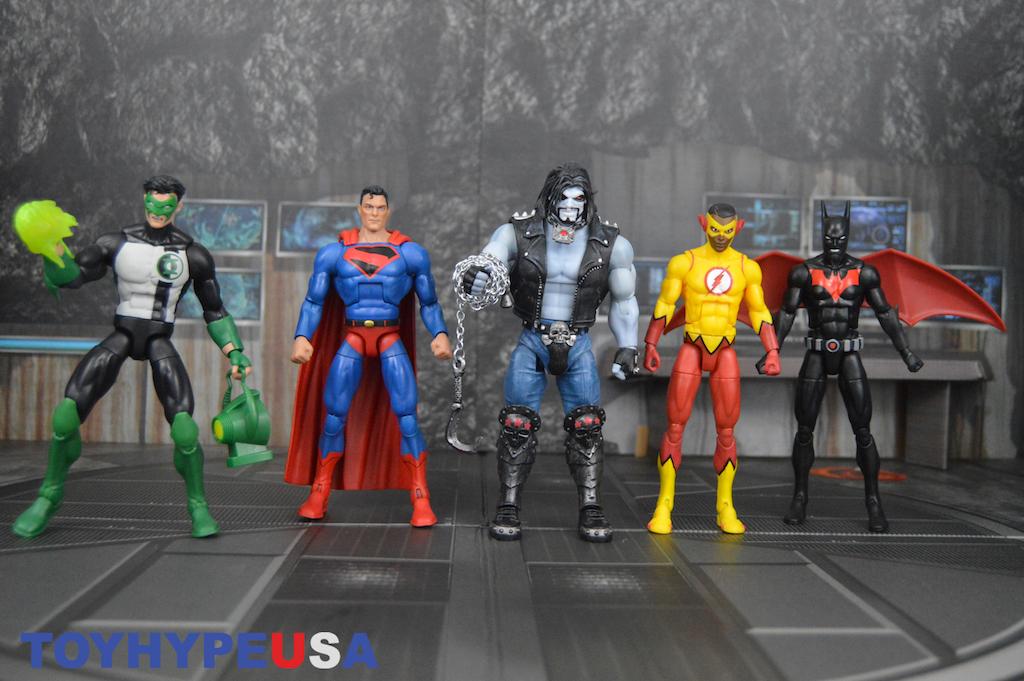 Mattel – DC Comics Multiverse 6″ Lobo Collect & Connect Wave Figures Review