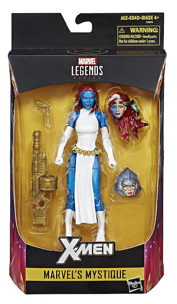 Hasbro Marvel Legends Walgreens Exclusive Mystique Figure Available Once More For $13.99
