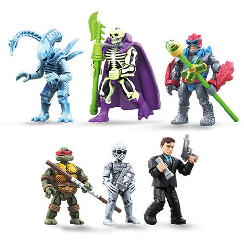 Mega Construx MCX Heroes Mini-Figure Series 5 Figure Pre-Orders On Amazon