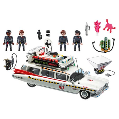 Entertainment Earth – Playmobil Ghostbusters 70170 Ecto-1A Vehicle Set In-Stock