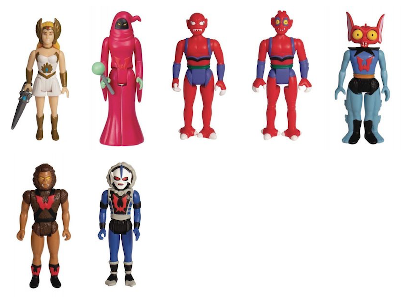 Super7 Masters Of The Universe ReAction 3 3/4″ She-Ra Series