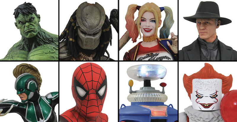 Diamond Select Toys Solicitations For August 2019 – Marvel, Gentle Giant, Kingdom Hearts, Westworld, DC & More