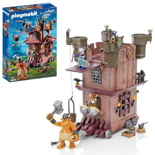 Playmobil Knights – Mobile Dwarf Fortress & More New Products Coming