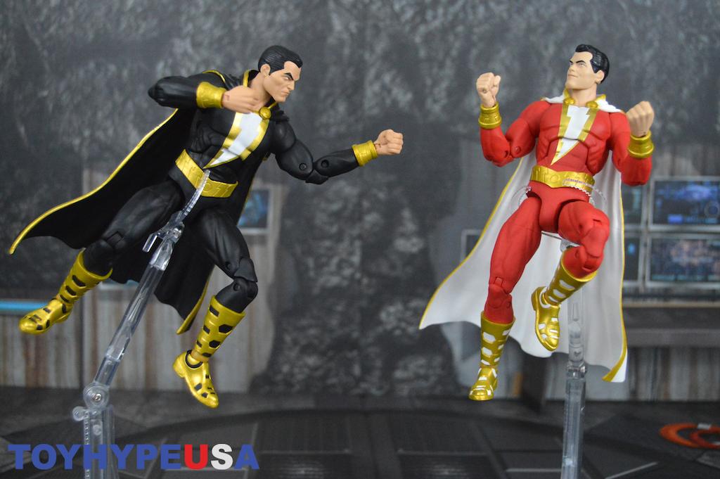 DC Collectibles – DC Essentials Shazam & Black Adam Figure 2-Pack Review