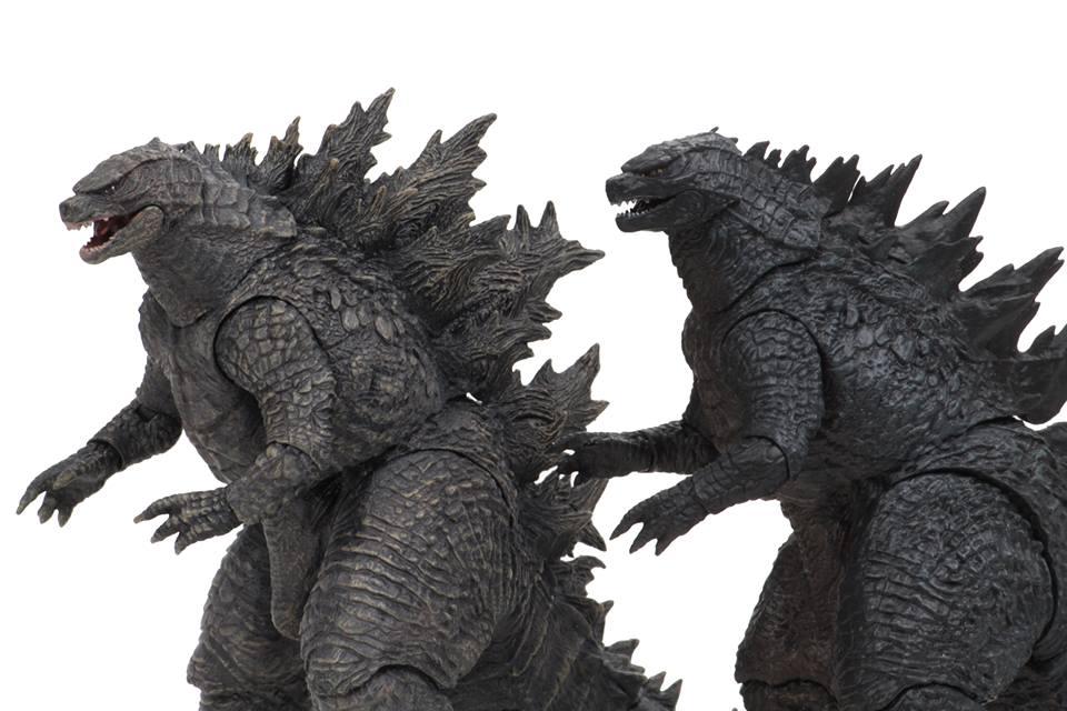 NECA Toys Godzilla: King Of The Monsters – Godzilla Figure Comparison Images