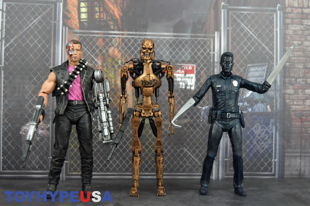 NECA Toys Terminator 2 Kenner Tribute Figures Review