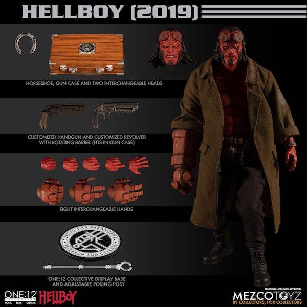Mezco Toyz One:12 Collective Hellboy Figure Pre-Orders