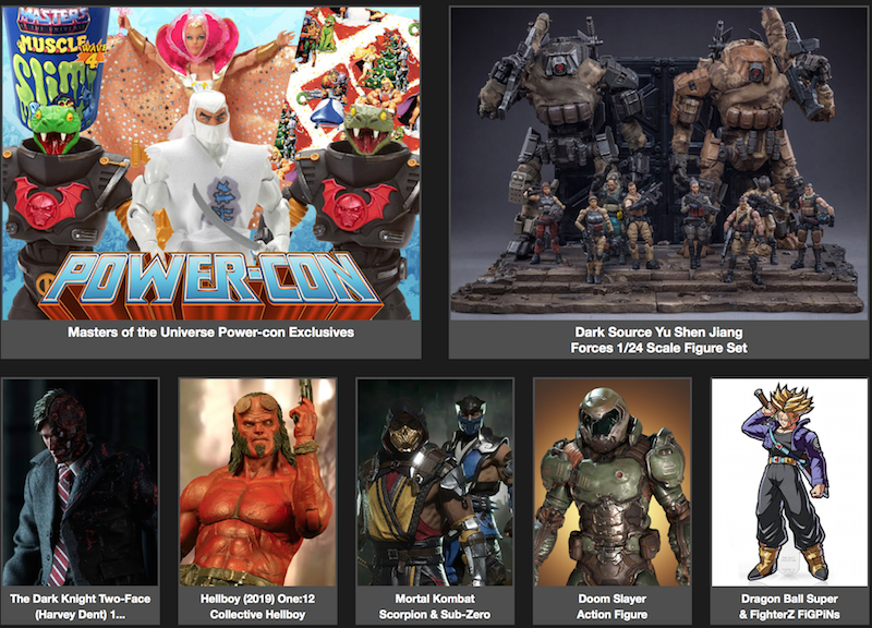 BigBadToyStore News – MOTU Power-con, Hellboy, Mortal Kombat, Doom, Acid Rain, Bring Arts, Super7 & More