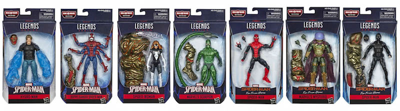 Entertainment Earth – Hasbro Marvel Legends 6″ Spider-Man – Molten Man Build-A-Figure Wave Now Shipping