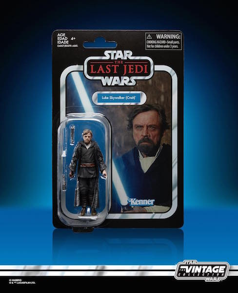 Star Wars The Vintage Collection 3 3/4″ The Last Jedi Luke Skywalker Figure Pre-Orders On Wal-Mart