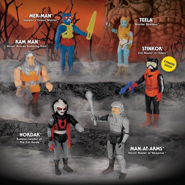 Super7 – Masters Of The Universe ReAction Variable Variants & Slime Pit He-Man Figure
