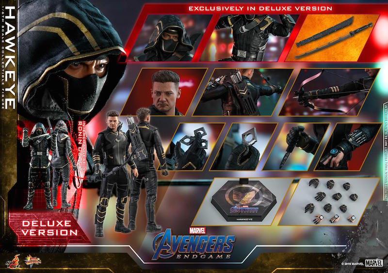 Hot Toys Avengers: Endgame – War Machine & Hawkeye/Ronin Sixth Scale Figures Pre-Orders