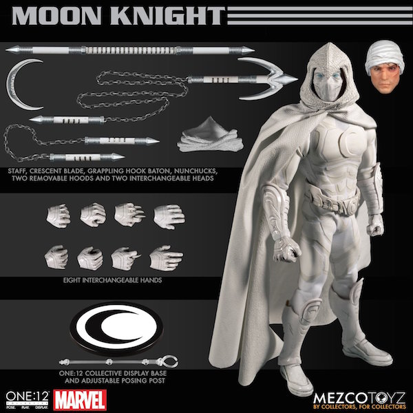 Mezco Toyz Marvel Comics – Moon Knight One:12 Collective Figure Pre-Orders