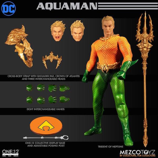 Mezco Toyz DC Comics – Aquaman One:12 Collective Figure Pre-Orders