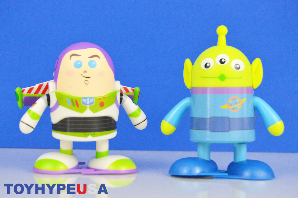 Disney Store Exclusive Toy Story Shufflerz Buzz Lightyear & Alien Figures Review