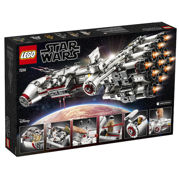 LEGO Star Wars 75244 Tantive IV Set Available Now