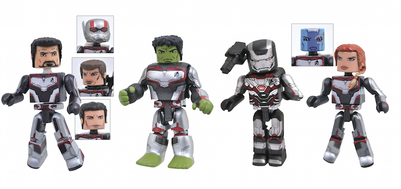 Diamond Select Toys Avengers: Endgame Minimates Assemble In Stores