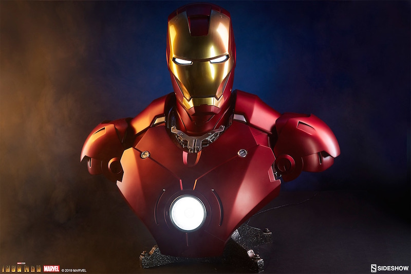 Sideshow Collectibles Iron Man Mark III Life Size Bust Pre-Orders
