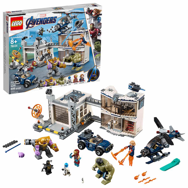 LEGO Avengers: Endgame Sets Official Press Release