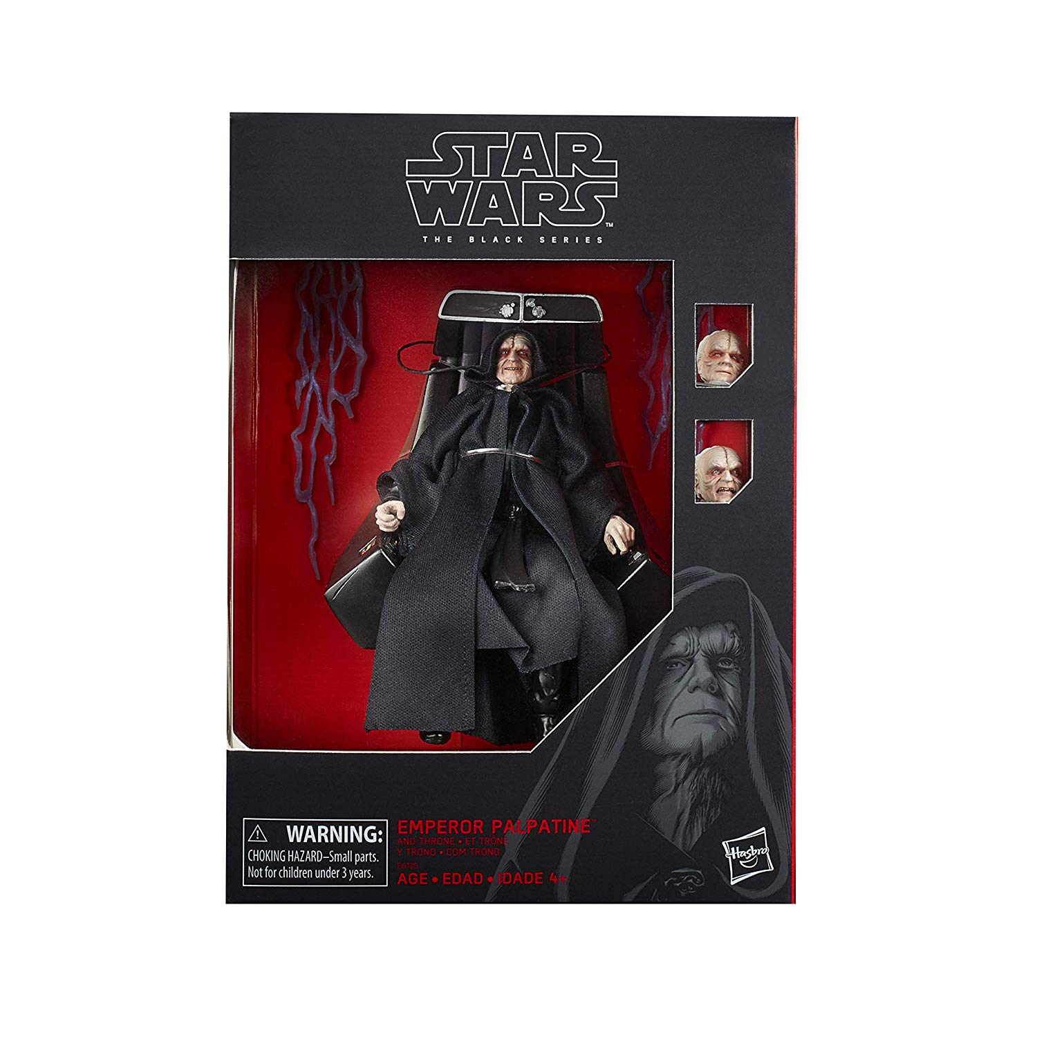 Star Wars The Black Series 6″ Amazon Exclusive Emperor Palpatine With Throne Figure Pre-Orders