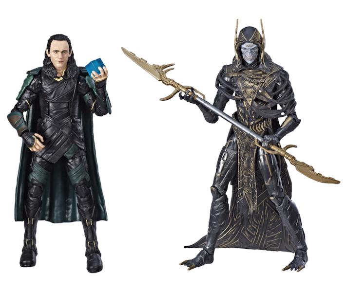 Hasbro Marvel Legends Avengers: Infinity War Loki & Corvus Glaive 2-Pack Now $29.97 At Wal-Mart