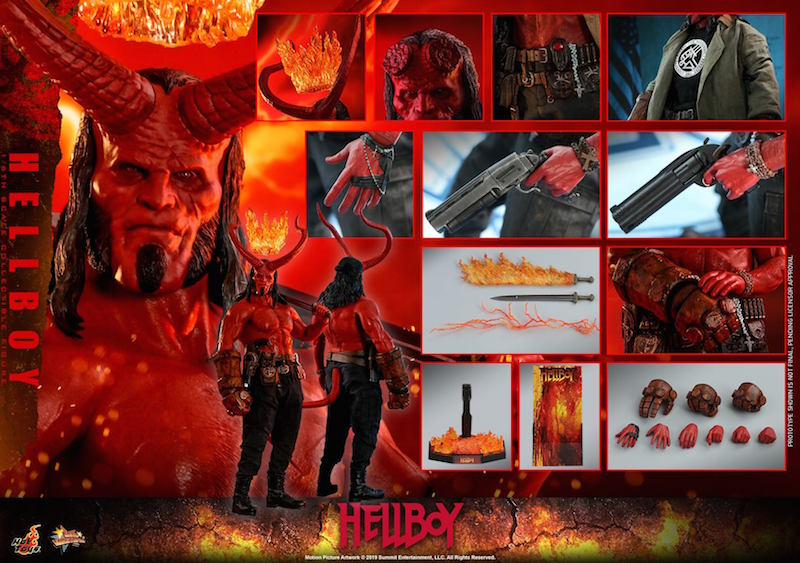 Hot Toys Hellboy Sixth Scale Figure Pre-Orders