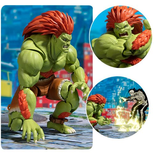 Entertainment Earth – S.H. Figuarts Street Fighter Blanka Figure In-Stock