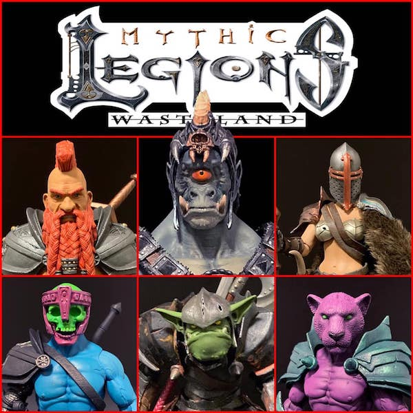 Four Horsemen Studios – Mythic Legions: Wasteland Figures Announced