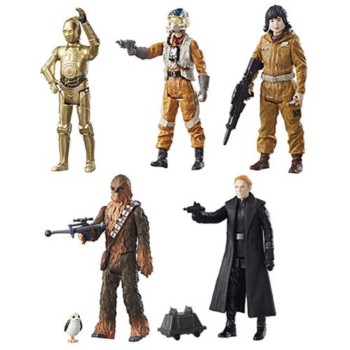 Entertainment Earth Daily Deal – Star Wars: The Last Jedi Teal 3 3/4″ Figures Wave 1 Now $29.99
