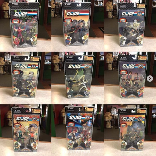 Kokomo Toys eBay Store – G.I. Joe 25th Anniversary 2-Packs, Singles & More