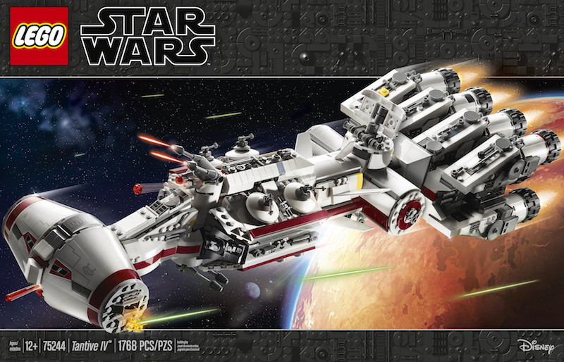 Star Wars Celebration 2019 – LEGO Star Wars Tantive IV Set