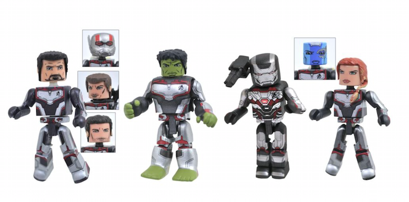Diamond Select Toys Avengers: Endgame Minimates Box Set