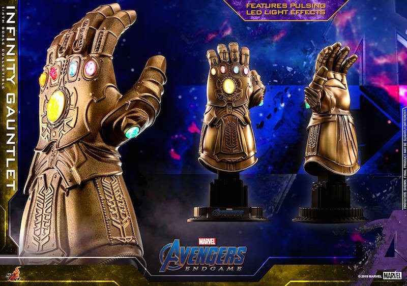 Hot Toys Avengers: Endgame – 1/4″ Scale Infinity Gauntlet