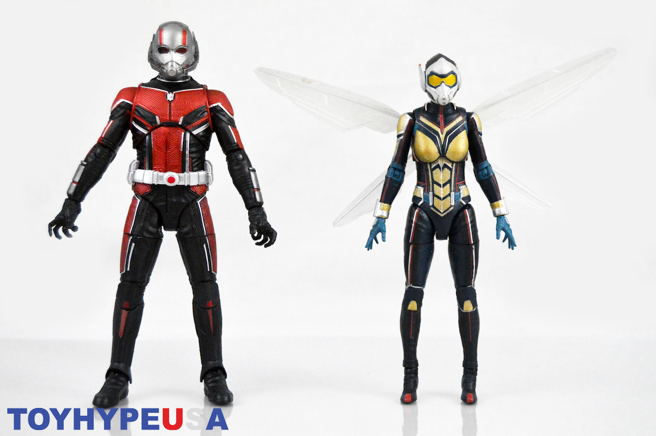 Disney Store Exclusive Marvel Select Ant-Man & The Wasp Figures Review