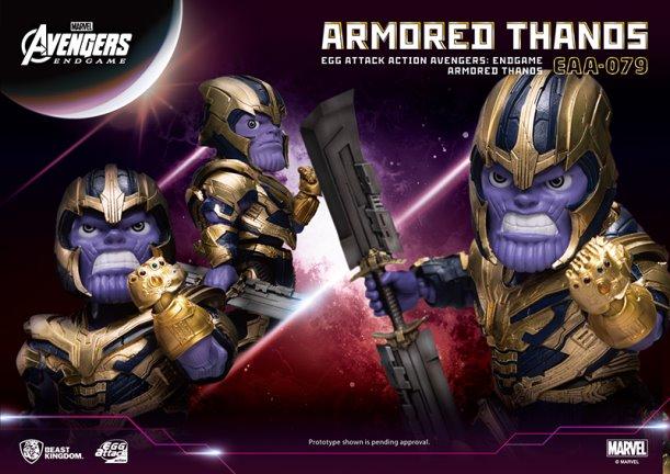 Beast Kingdom – Avengers: Endgame Thanos Egg Attack Figure