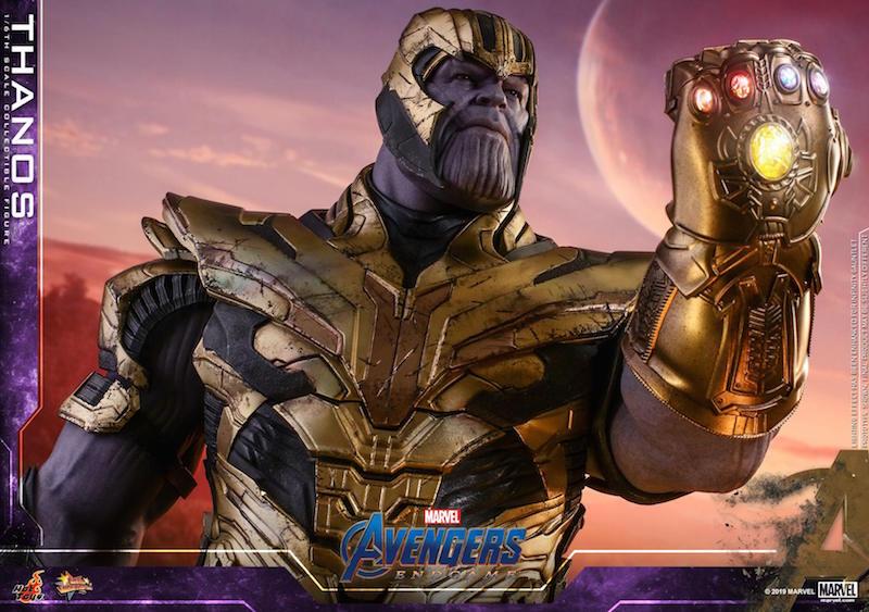 Hot Toys Avengers: Endgame – Iron Man Mark LXXXV & Thanos Sixth Scale Figures