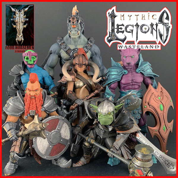 Four Horsemen Studios – Mythic Legions: Wasteland Figure Pre-Order Ends In 24 Hours