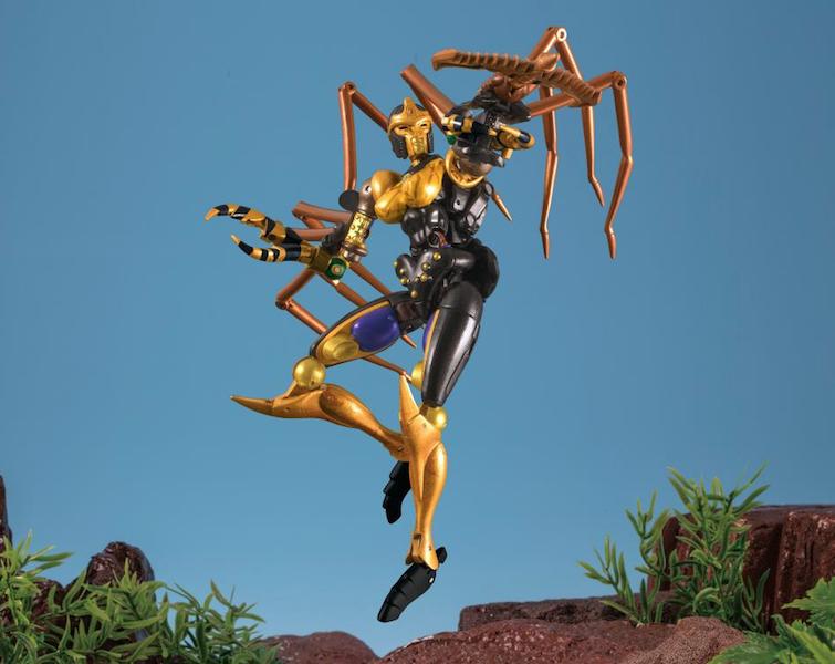 Takara-Tomy Transformers Masterpiece Beast Wars MP-46 Blackwidow (Blackarachnia) Figure
