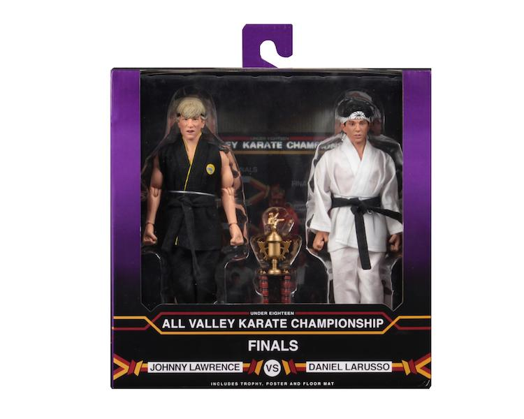 NECA Toys The Karate Kid 8″ Clothed Tournament 2-Pack In-Packaging
