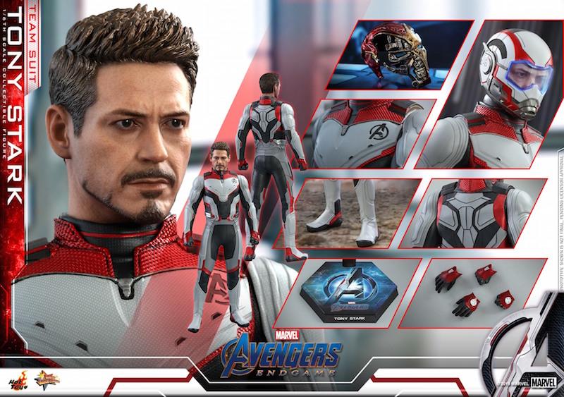 Hot Toys Avengers: Endgame Team Suit Tony Stark Sixth Scale Figure Pre-Orders