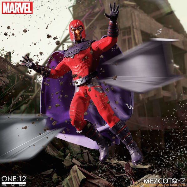 Mezco Toyz Marvel Comics – Magneto One:12 Collective Figure Pre-Orders