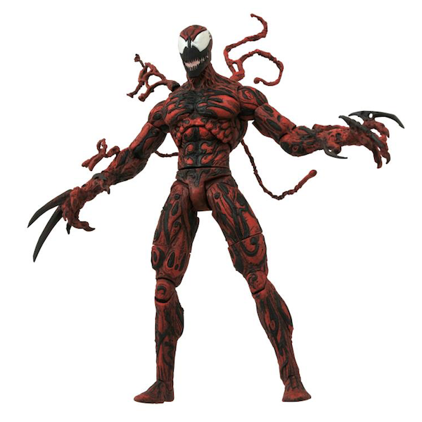 Diamond Select Toys Marvel Select 7″ Carnage Figure Gets ReIssued