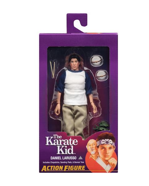 NECA Toys The Karate Kid 8″ Clothed Figures In-Packaging