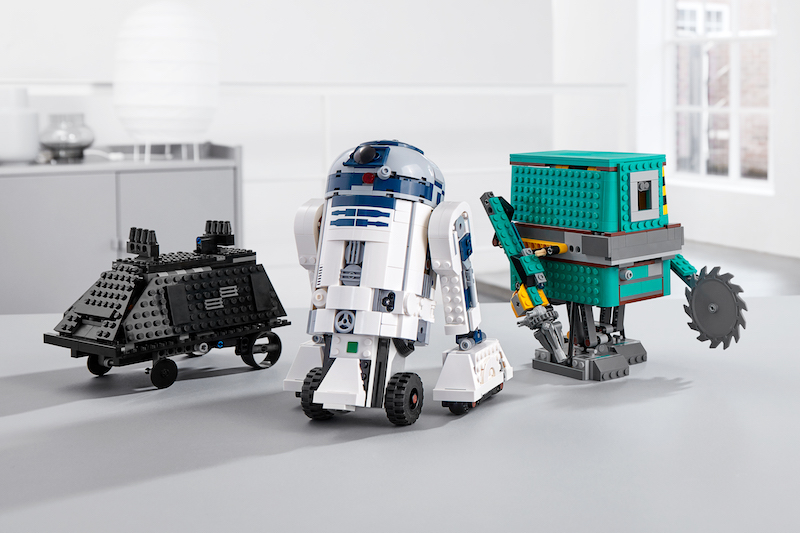 LEGO Star Wars Set Brings Technology, Coding To The Galaxy