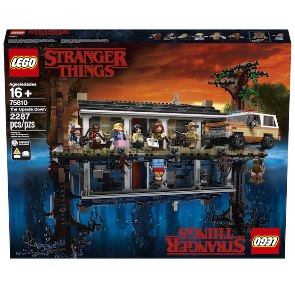 Entertainment Earth – LEGO Stranger Things: The Upside Down 75810 Set In-Stock