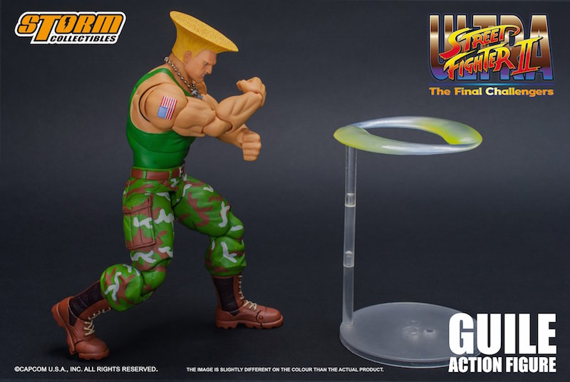 Storm Collectibles Street Fighter II Guile 1/12th Scale Figure Pre-Orders